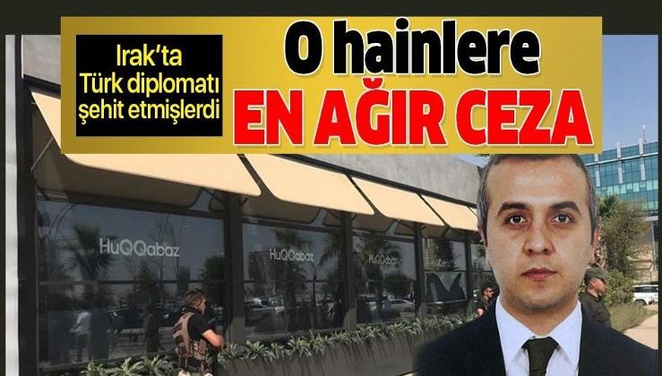 Türk diplomat Osman Köse'yi şehit edenlere idam cezası!.