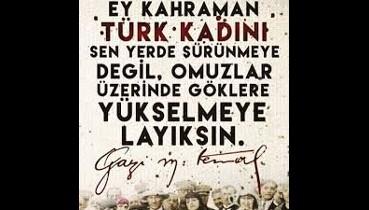Cumhuriyet devrimi, Türk devrimi yaşatır!