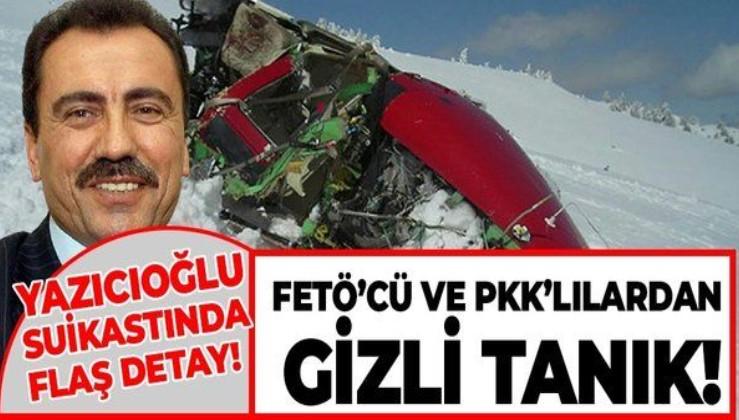 Muhsin Yazıcıoğlu suikastında şoke eden detay! FETÖ'cüler ve PKK'lılar gizli tanıklık yapmış!