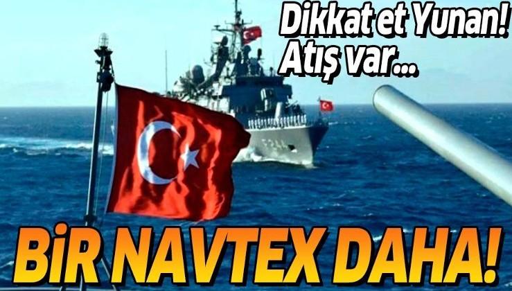 Son dakika: Türkiye'den Akdeniz'de yeni NAVTEX ilanı