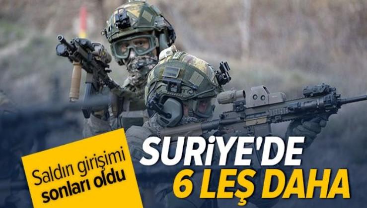 Barış Pınarı bölgesinde 6 PKK'lı terörist etkisiz hale getirildi