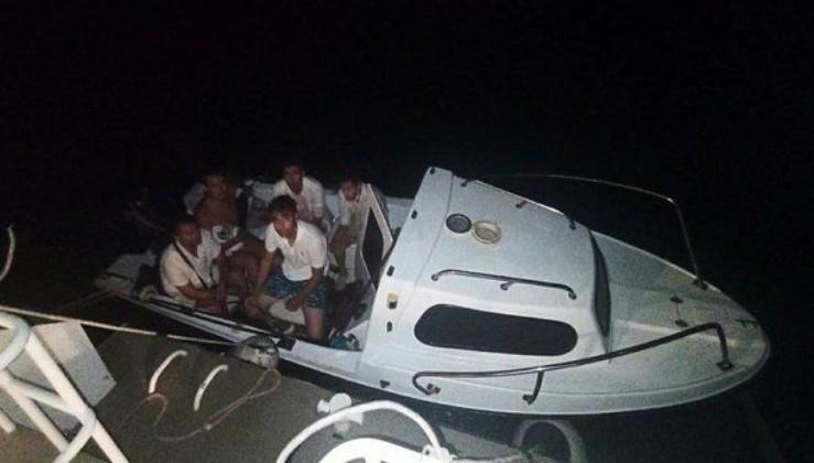 Bodrum'da FETÖ'cü 6 eski asker tekne ile Yunanistan'a kaçarken yakalandı