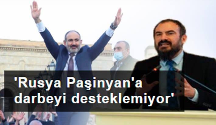 Mehmet Perinçek: Rusya Paşinyan'a yönelik darbeyi desteklemiyor