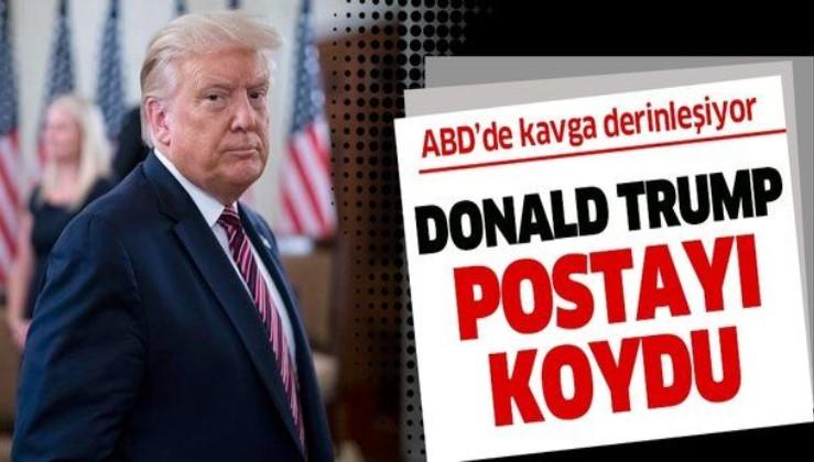 ABD Posta Servisi (USPS), Beyaz Saray ile Demokratların kavgasında yeni odak noktası oldu