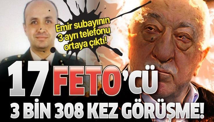 Ege Ordu Komutanı Ali Sivri'nin Emir subayı 17 FETÖ elamanını 3 bin 308 defa aramış!