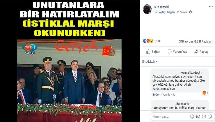 Fotoğrafın Erdoğan'ın İstiklal Marşı okunurken ayağa kalkmadığını gösterdiği iddiası