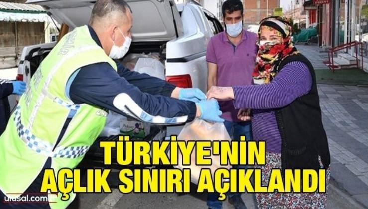 Türkiye'nin açlık sınırı açıklandı