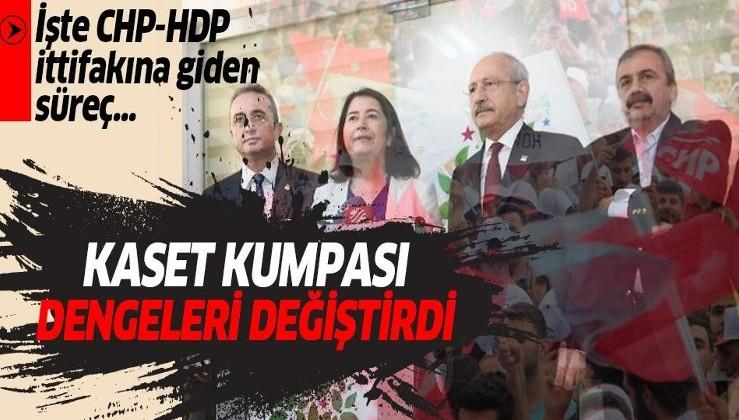 Deniz Baykal'a kurulan kaset kumpası CHP'de dengeleri değiştirdi! İşte CHP- HDP ittifakına giden o süreç...