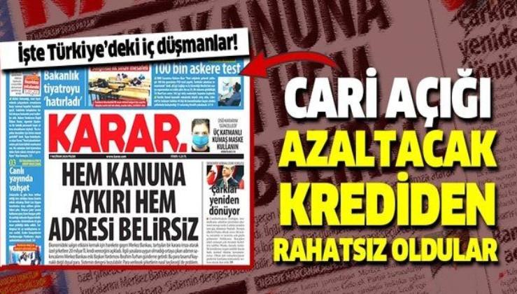 Davutoğlu'nun gazetesinin algı operasyonu!