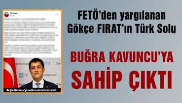 FETÖ'den yargılanan Gökçe Fırat'ın 'Türk Solu' Kavuncu'ya sahip çıktı