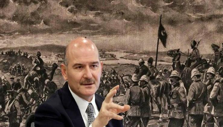 İçişleri Bakanı Süleyman Soylu, Kut'ül Amare Zaferi'nin 105'inci yılında şehitleri andı