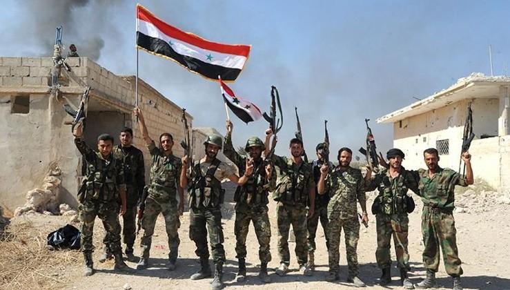 Suriye Ordusu ABD konvoyunun önünü kesti!