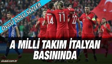 A Milli Takım İtalyan basınında