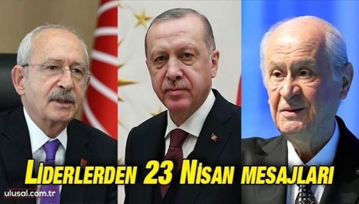 Liderlerden 23 Nisan mesajları