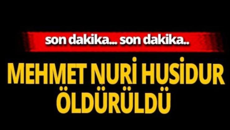 Son dakika: Turuncu listede aranan Mehmet Nuri Husidur etkisiz hale getirildi