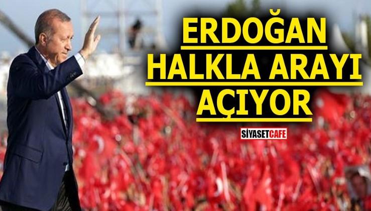 Erdoğan halkla arayı açıyor