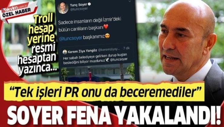Troll Twitter hesabından kendi reklamını yapmaya çalışan Tunç Soyer fena yakalandı!