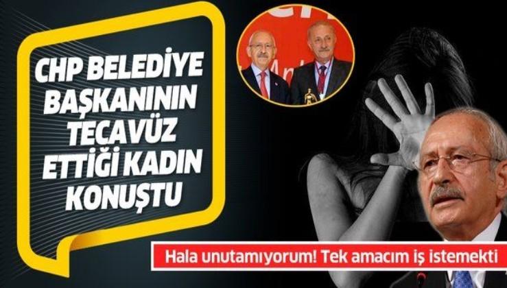 CHP'li Belediye Başkanı Ahmet Deniz Atabay'ın tecavüzüne uğrayan kadın konuştu: Unutamıyorum sürekli ağlıyorum