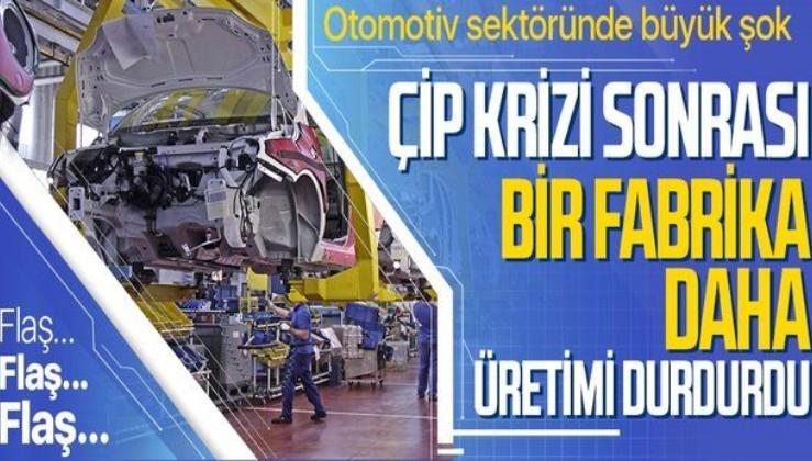 Otomotiv sektöründe kriz! Mikroçip tedarik sorunu Ford'u da vurdu