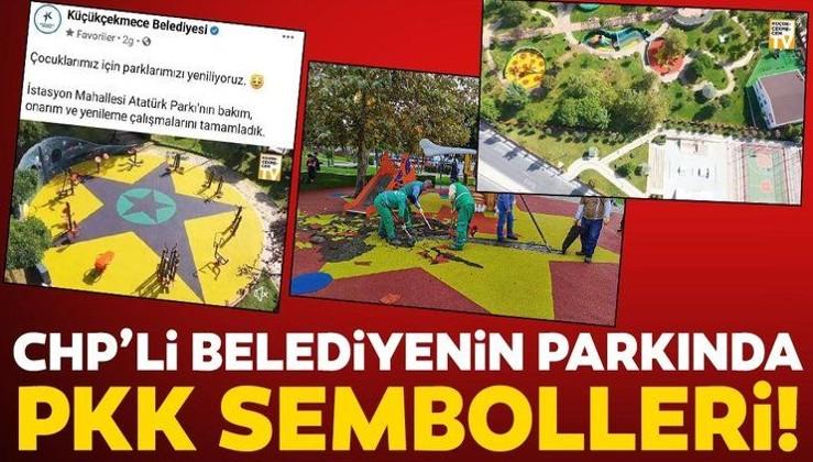 YUH MONTAJ DEĞİL GERÇEK: CHP'li Küçükçekmece Belediyesi'nin parkında skandallar görseller! Soruşturma açıldı