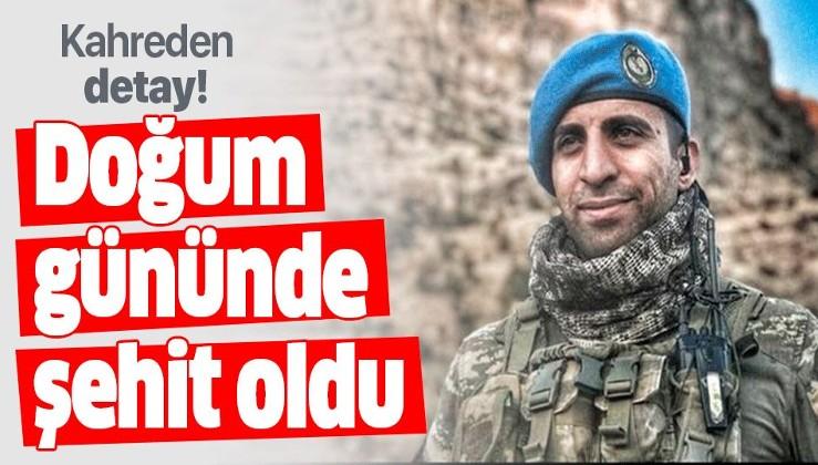 Barış Pınarı Harekâtı'nda şehit olan askerle ilgili kahreden detay.