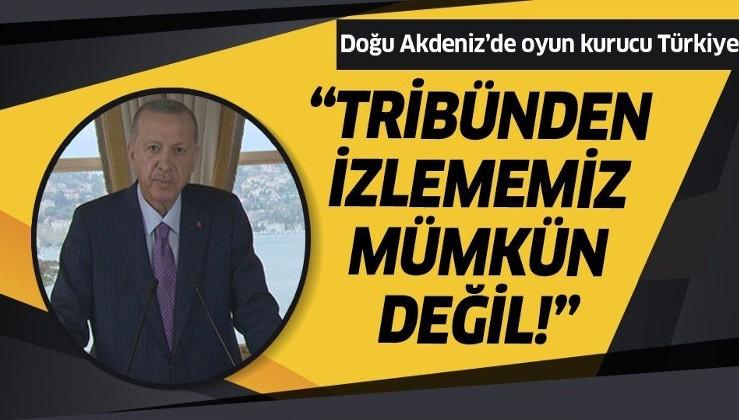 Erdoğan'dan, Doğu Akdeniz Çalıştayı'na video mesaj