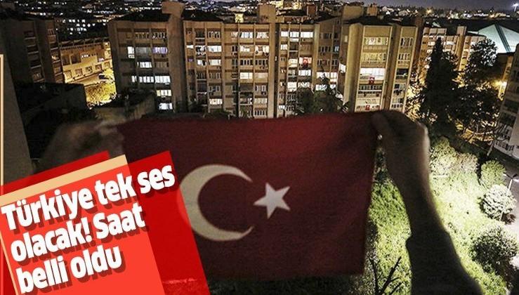 Saat 19.23'te 81 Milyon tek yürek olacak İstiklal Marşı okuyacak!