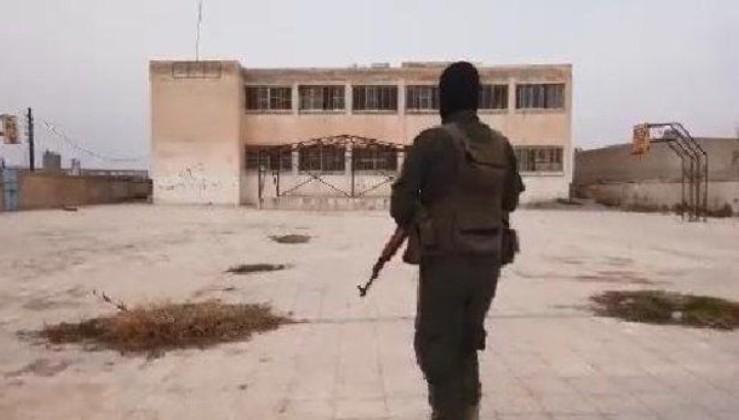 SON DAKİKA: Resulayn'da, terör örgütü PKK'nın karargâh olarak kullandığı okulda tünel bulundu
