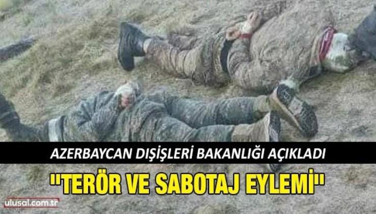 Azerbaycan'dan Ermenistan askerlerinin mayın döşemesine ilişkin açıklama
