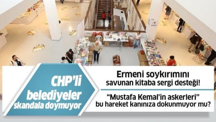 Çankaya Belediyesi Ermeni soykırımını savunan kitap satışı yapılmasına izin verdi!.