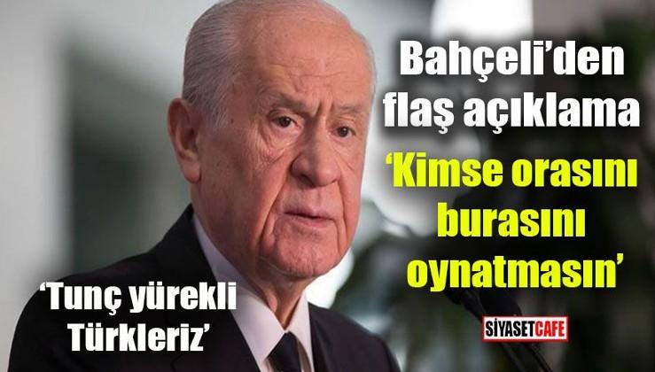 Devlet Bahçeli: PKK ve FETÖ'nün hükmü İstanbul'da sökmeyecektir. Terörist başının mektubundan siyasi fayda uman namerttir