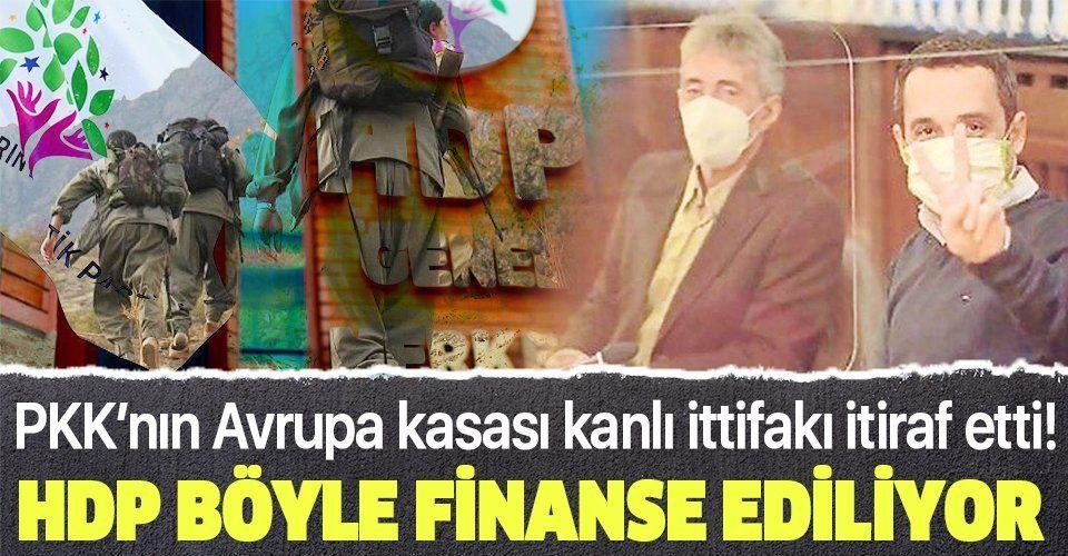 SON DAKİKA: Almanya'da tarihi itiraf: PKK Avrupa'da topladığı paralarla HDP'yi finanse ediyor