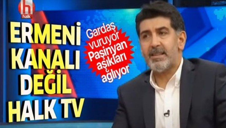 Paşinyan'ın sözcüsü sandım, Halktv programcısı Levent Gültekin'miş