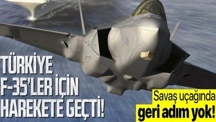 Türkiye'den son dakika F-35 hamlesi! Haklarını korumak için harekete geçti!