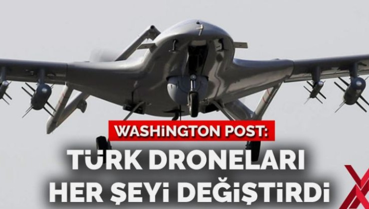 Washington Post: Türk droneları Hafter'i destekleyenleri utandırdı