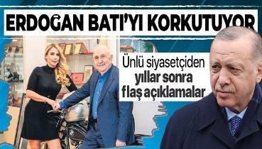 Yıllardır röportaj vermeyen siyasetçi Bedrettin Dalan'dan flaş açıklamalar: Erdoğan Batı'yı korkutuyor