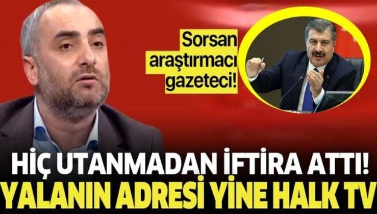 İsmail Saymaz'ın Bakan Koca ve basın çalışanlarını hedef aldığı yalanı elinde patladı