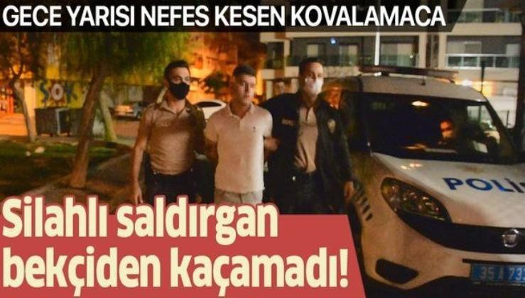 Son dakika: İzmir'de tartıştığı kişiyi bacaklarından vuran şüpheli, bekçiden kaçamadı