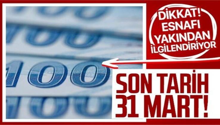 Milyonlarca esnafı ilgilendiriyor! Son tarih 31 Mart! Kira desteğine nasıl başvurulur? Kira desteği almanın şartları nelerdir?