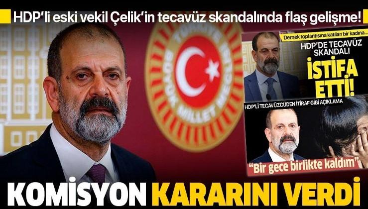 Son dakika: HDP'li eski vekil Tuma Çelik'in dokunulmazlığının kaldırılmasına oy birliğiyle karar verildi