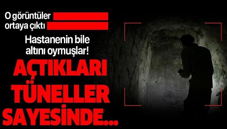 YPG Rasulayn'ı delik deşik etmiş! Hastanenin altına kazdıkları tüneller bakın ne işe yarıyormuş!.