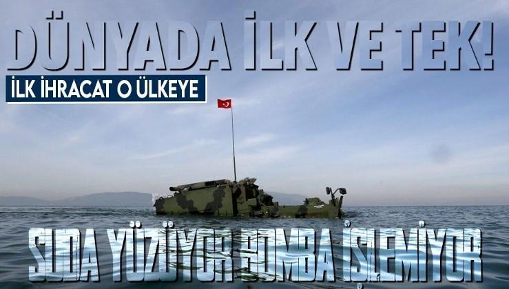 Dünyada ilk ve tek! Askerlerin elindeki dev milli zırhlı dozer: AZMİM! İlk ihracat o ülkeye!