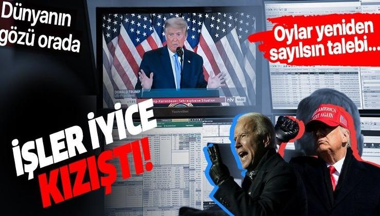 Eyalet eyalet 2020 ABD seçim sonuçları! Trump mı Biden mı? Hangi eyalette kim önde?