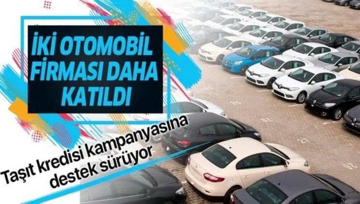 Son dakika: Ziraat Bankası, Halkbank ve Vakıfbank'ın taşıt kredisi kampanyasına Mercedes ve Toyota da katıldı.