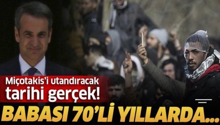 Yunanistan Başbakanı Miçotakis'in babası Türkiye'ye sığınmıştı.