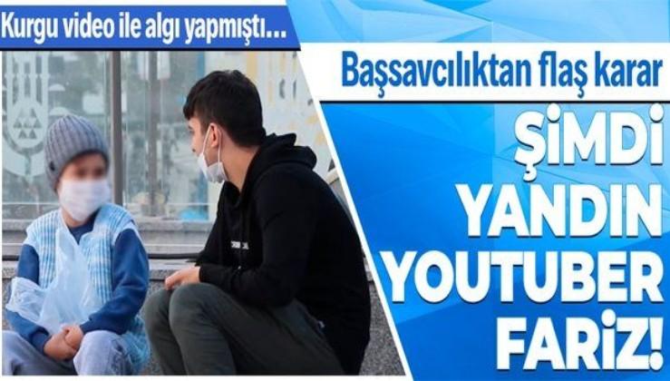 Kurgu çıkan 'Bağcılar'da su satan çocuk' videosunu çeken youtuber Fariz hakkında gözaltı kararı!