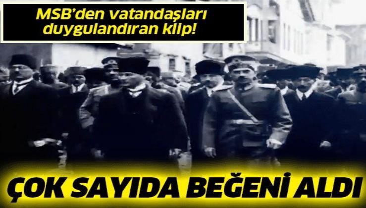 "MSB'den ""29 Ekim Cumhuriyet Bayramı"" klibi"