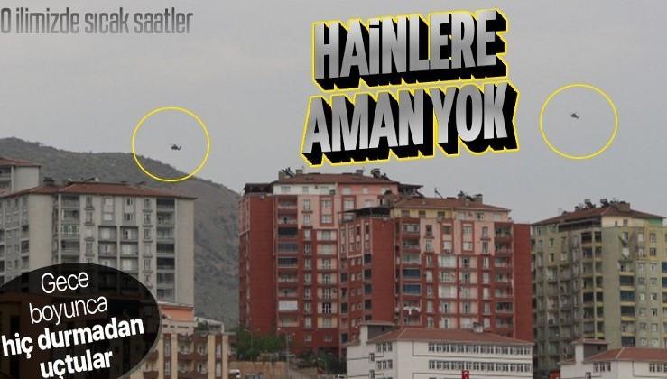 SON DAKİKA: Pençe-Yıldırım ve Pençe-Şimşek ve Eren 13-Cudi Besta operasyonlarının sürdüğü Şırnak'ta askeri hareketlilik! Helikopterler gece boyunca uçtu