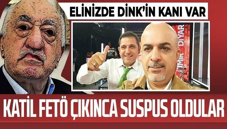 """Yıllarca """"Hrant Dink'in katilleri bulunsun"""" deyip katliamın arkasından FETÖ çıkınca sessizliğe bürünenler kimler?"""