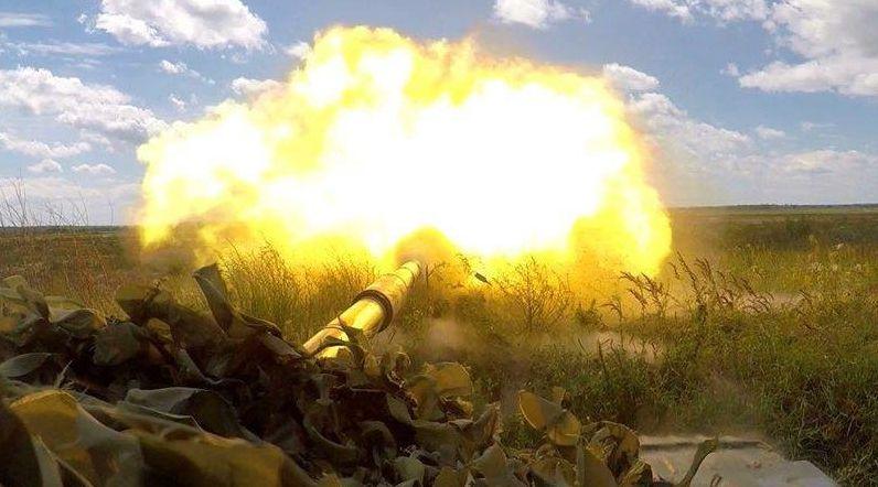 """Донбас """"палає"""": окупанти пішли в атаку по всій лінії фронту, гримлять 120-мм гармати, ситуація важка"""